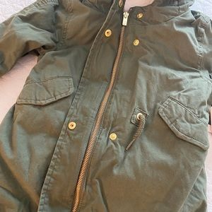 NWT Baby Gap 3-in-1 faux fur Coat